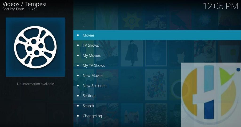 kodi 18 addon tempest movies tv shows