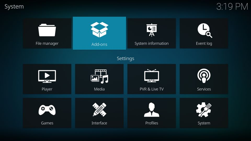 pvr iptv simple client addon for kodi