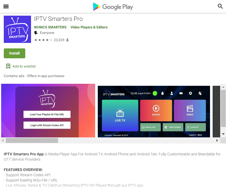 Popular IPTV Smarters App Removed From Google Play Following Complaint