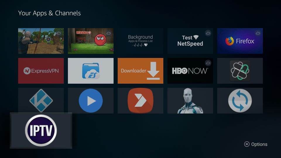 download gse smart iptv on Firestick