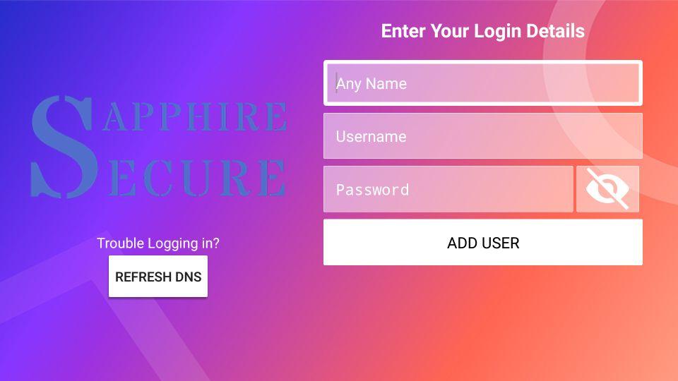 sapphire secure iptv download