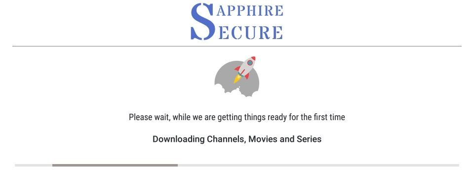 set up sapphire secure iptv on Firestick