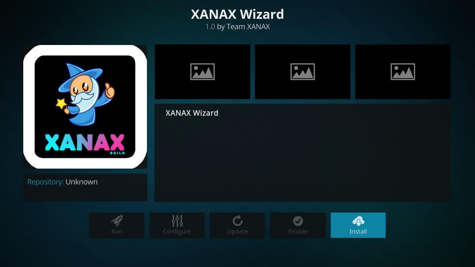Xanax Build on KODI 18.5 Leia