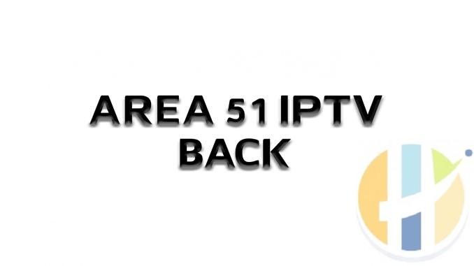 AREA 51 IPTV BACK