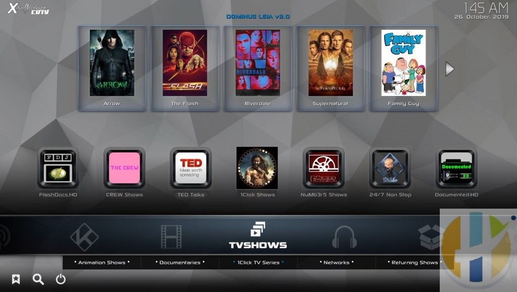 DOMINUS Kodi 18 Builds Best for Android Firestick PC Windows MAC