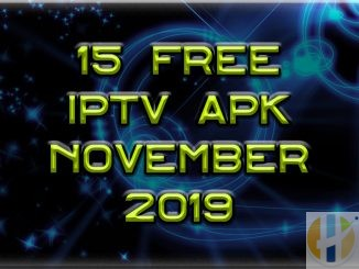 Free IPTV Apk November 2019