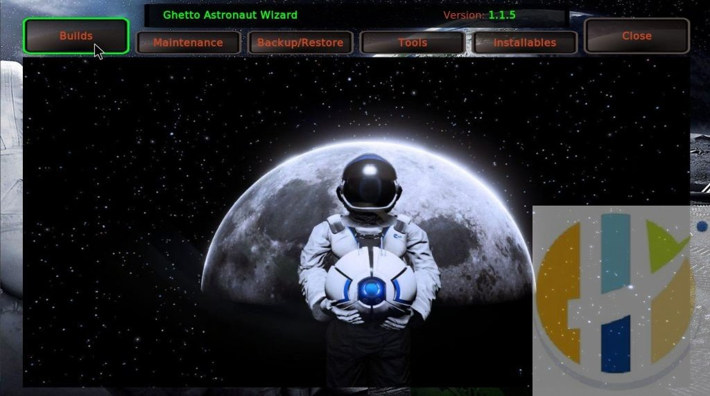 Ghetto Astonaut Kodi 18 Builds