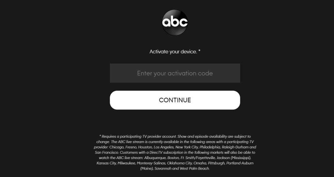 Install ABC App on Firestick / Fire TV