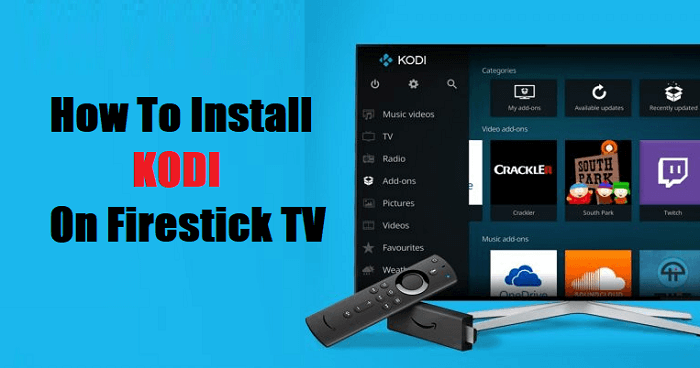 How to Install Kodi on Firestick TV - Kodi 18.4 Leia on Firestick (2019)