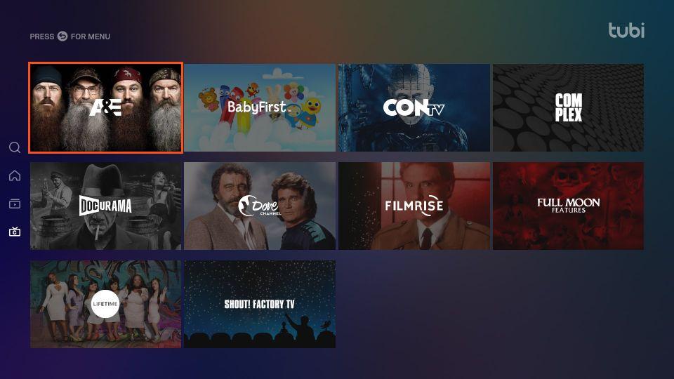 download tubi tv on Firestick