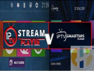 IPTV SMARTERS and IPTV Stream Player