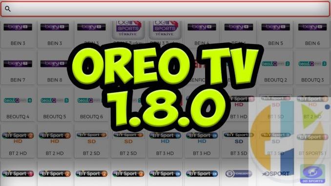 Oreo TV IPTV APK JioTv Replacement