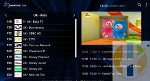 Sapphire Secure IPTV Channel List