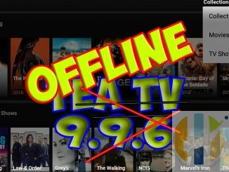 TeaTV Offline Shutdown