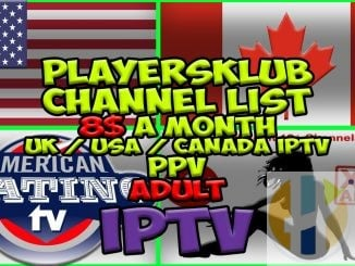 Players Klub IPTV on Firestick Kodi