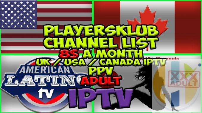 Players Klub IPTV on Firestick Kodi