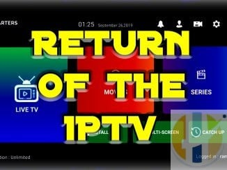 IPTV news come back 2019
