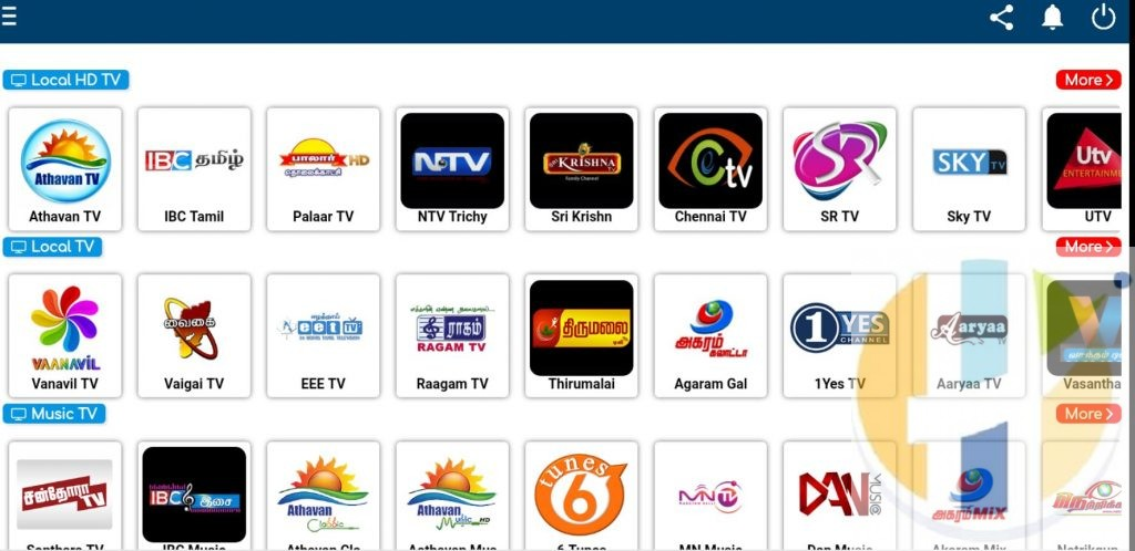 Tamil Live TV APK IPTV Android Application Firestick Hindi Nvidia