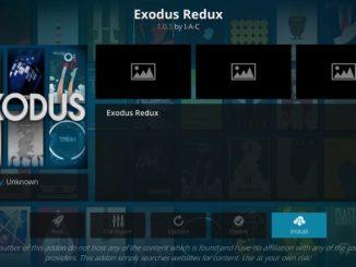 how to install exodus redux addon on kodi