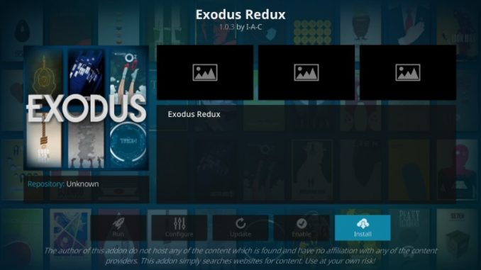 how to install exodus redux addon on kodi