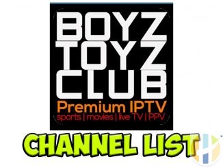 BoyzToyz Channel list IPTV