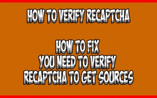 how to verify recaptcha on firestick