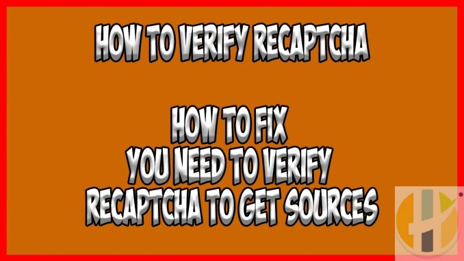 how to verify recaptcha on firestick