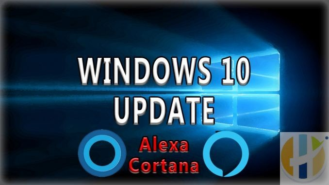 WINDOWS 10 UPDATE Gets Alexa and Cortana working together