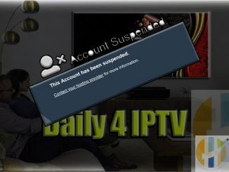 daily4iptv account suspended