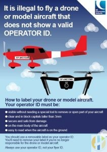 Illegal to fly a drone