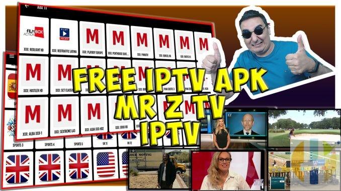 Mr Z TV IPTV APK Android