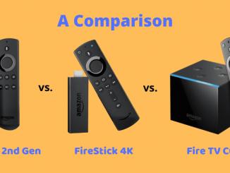 firestick vs firestick 4k vs fire tv cube comparison
