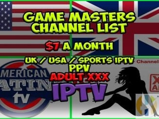 Game Masters IPTV Channel List
