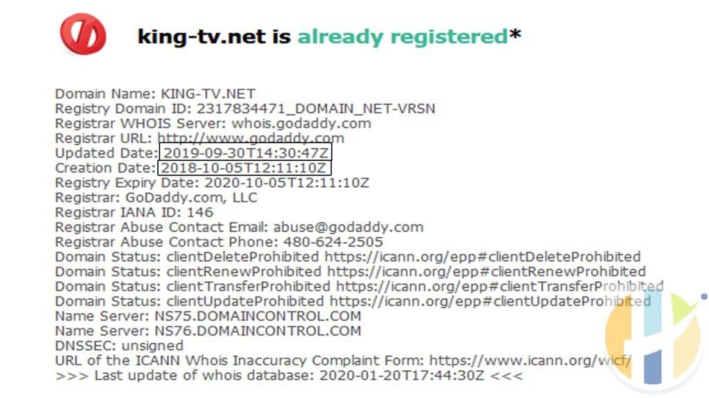 king tv information IPTV Shutdown on husham.com