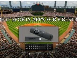 sports apps for firestick