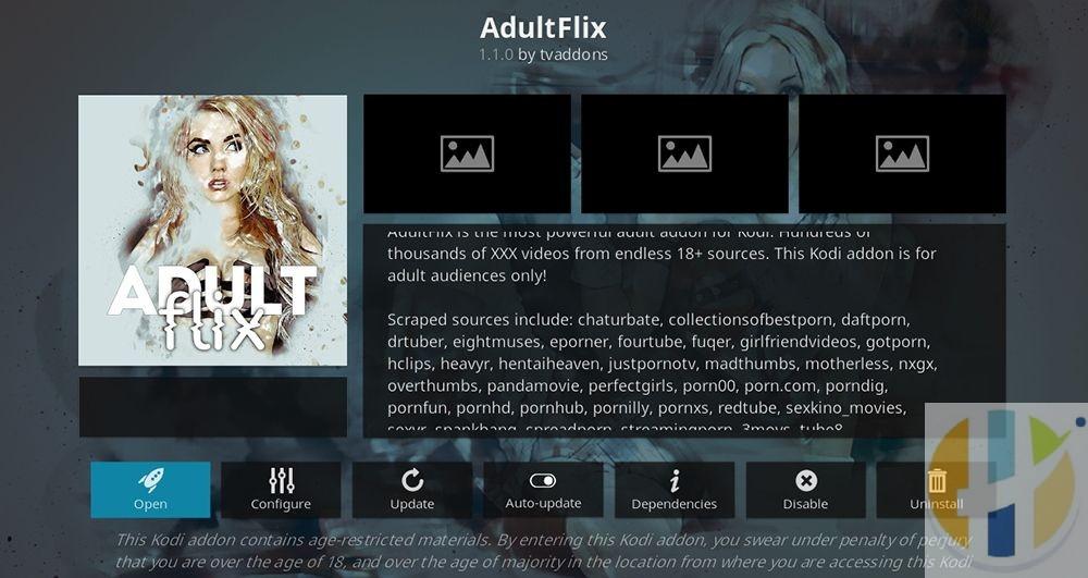 AdultFlix kodi addon
