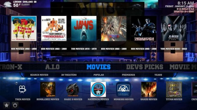How to install nitronx build on kodi