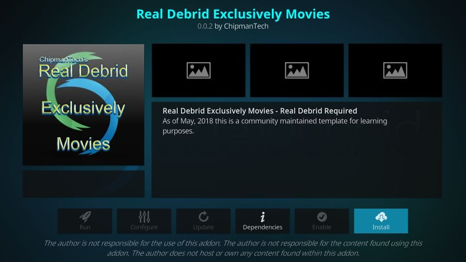 how to get Real debrid exclusively movies addon on kodi and firestick