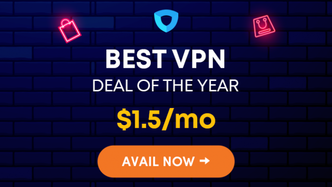 IVACY Best VPN deal of the year