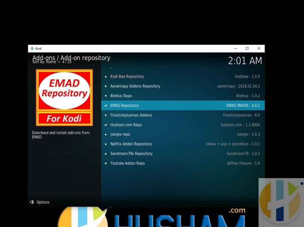 EMAD KODI Repo from husham.com Repo