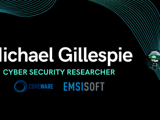 Michael Gillespie of Emsisoft and Coveware Explains on How Slaying Ransomware Works