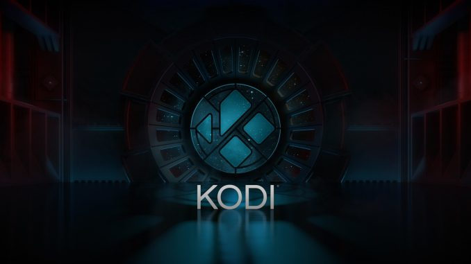 Kodi Leia 18 Splash Screen