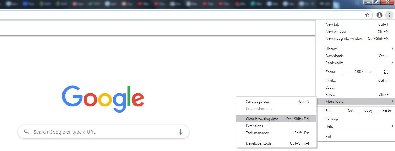 How to delete cookies on Chrome - first part.