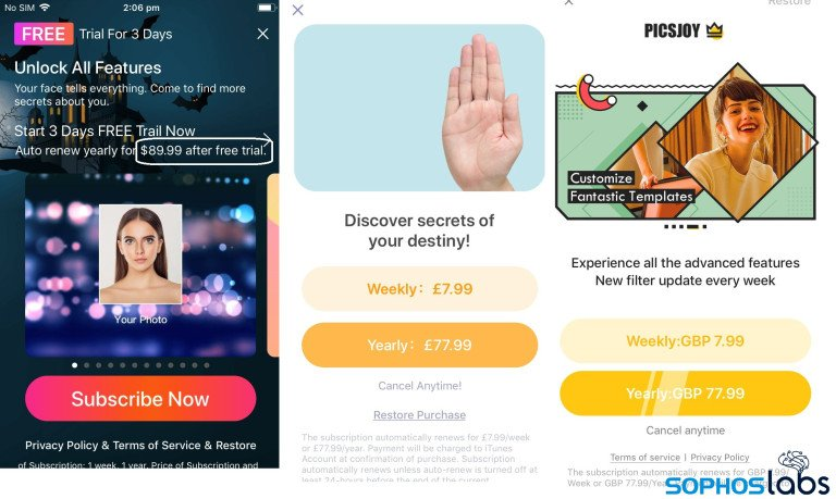palm reader apps