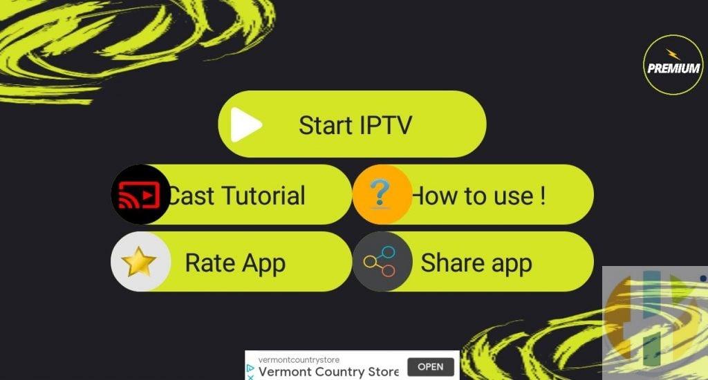 D4PTV Premium IPTV APK