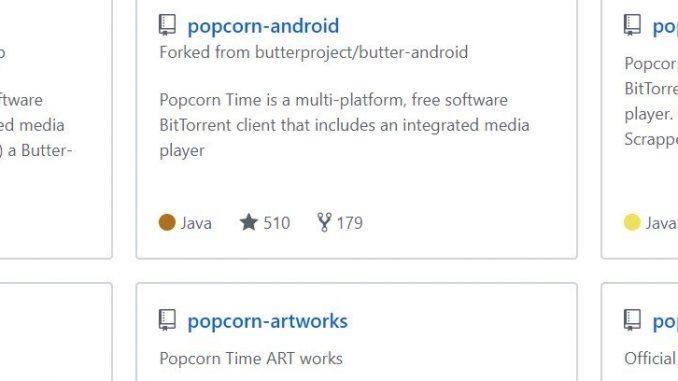 GitHub Reinstates Popcorn Time Code Despite MPA 'Threat'