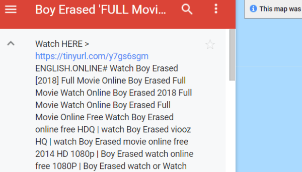 boy erased pirate keywords