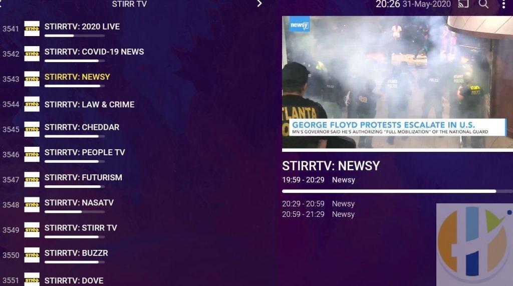 Purple IPTV News Live TV Channels