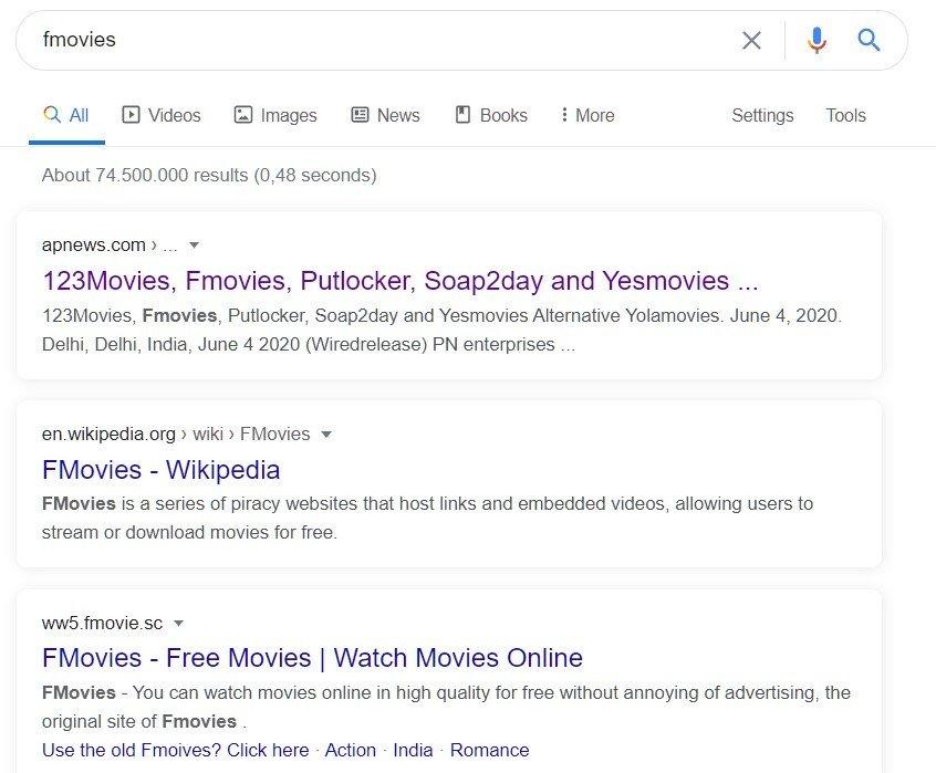 Fmovies Google